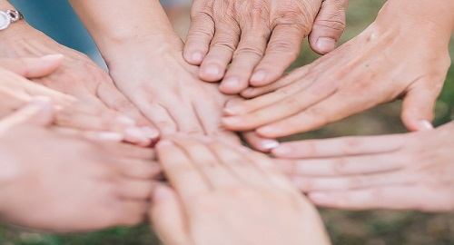 Hands for community